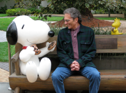 Me and Snoopy for blog