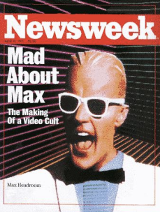 max headroom newsweek