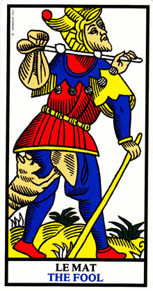 Fool Tarot of Marseilles