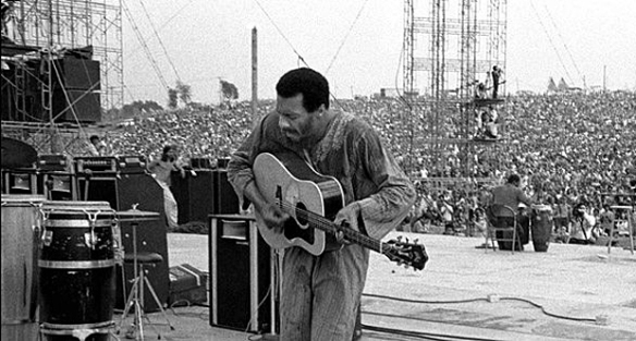 Ritchie Havens at Woodstock