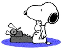 Snoopy escritor