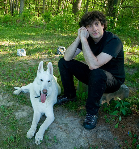 Neil Gaiman, 2009, by Kyle Cassidy.  CC-BY-SA-3.0