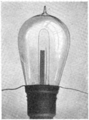 Edison Light Bulb.  Public Domain.