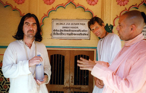In Vrindavan, India, 1996.  Public Domain.