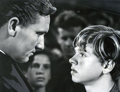 "Tracy and Rooney in ""Boys Town,"" 1938"