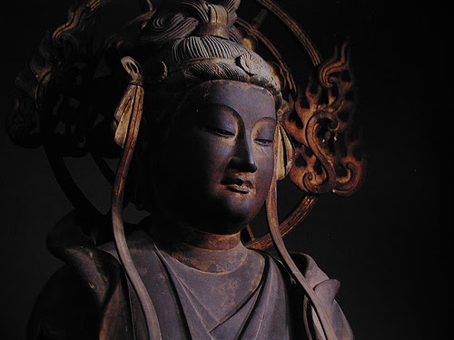 Japanese Buddha. Photo by Maren Yumi Motomura, CC BY-NC-SA 2.0