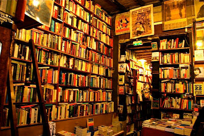 Shakespeare and Company bookstore, Paris. Wikimedia Commons