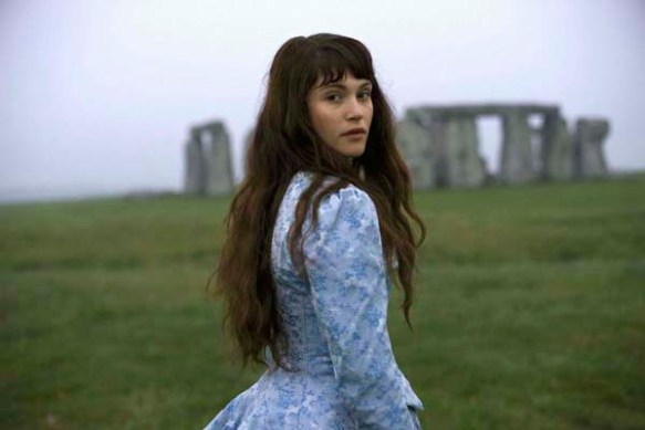 Gemma Arterton as the doomed Tess, 2008.