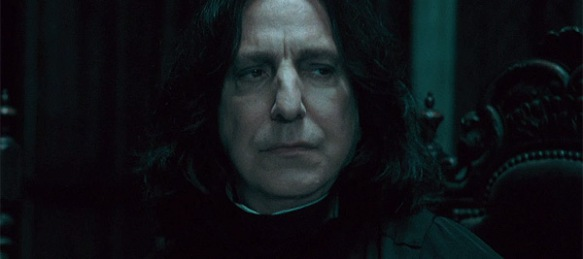 Alan Rickman as Severus Snape. Creative Commons