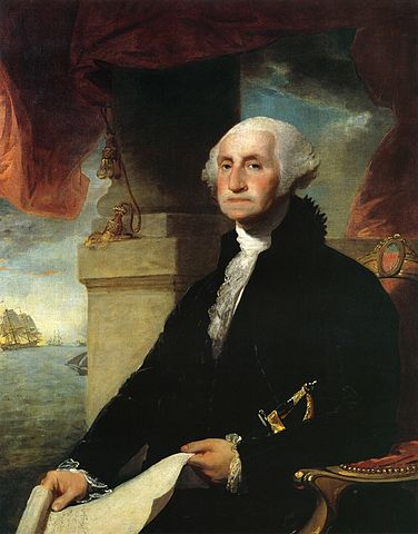 George Washington, 1797. Public Domain