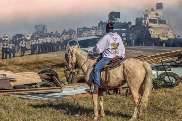 Credit:https://www.facebook.com/Standing-Rock-Rising-1131347910264898/?fref=ts
