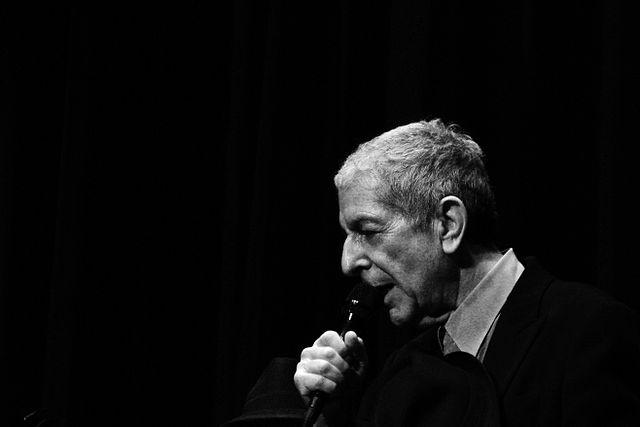 Leonard Cohen 1934-2016. CC-BY-SA-2.0