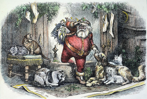 Intruder Alert! St. Nicholas, by Thomas Nast