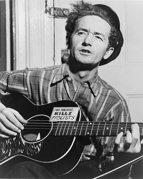 Woody Guthrie, 1943. Library of Congress.